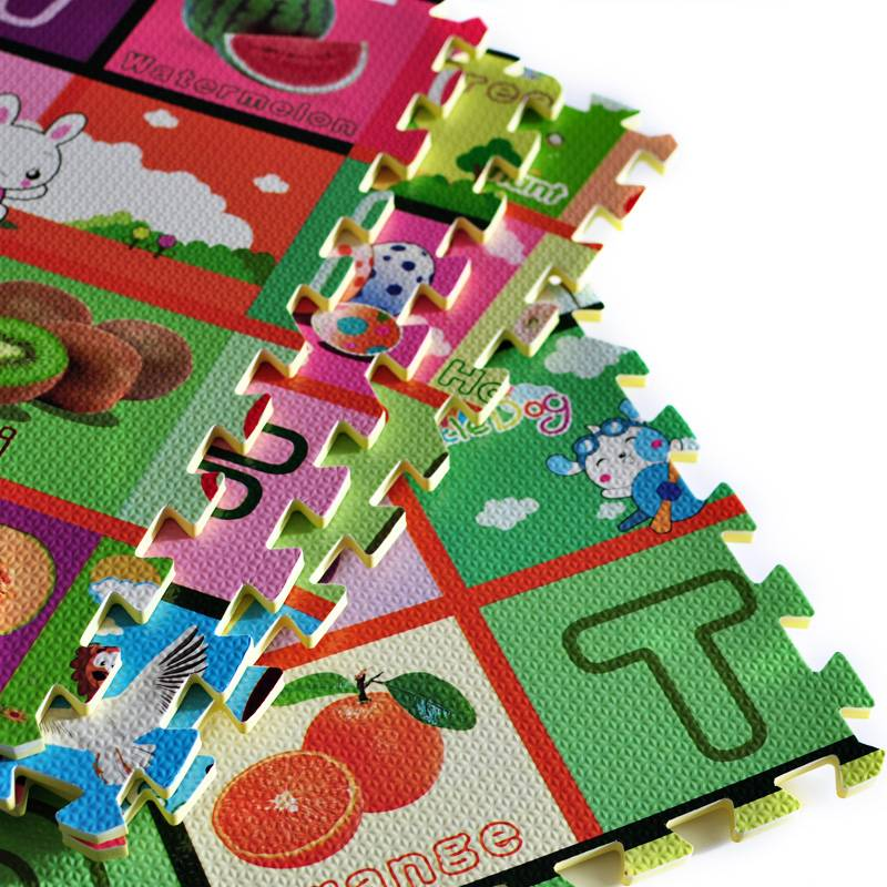 Jigsaw Puzzle Mats With Alphabet