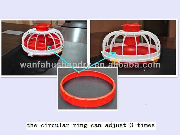 chicken feeder pan wanfa breeder broiler chicken farm poultry equipment(Professional Manufacturer)