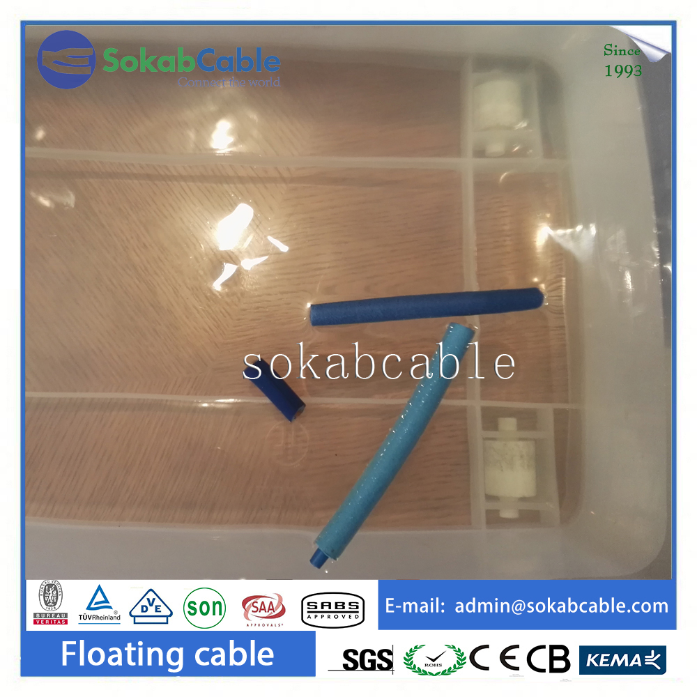 Underwater Flat Submersible Cable 1.5mm