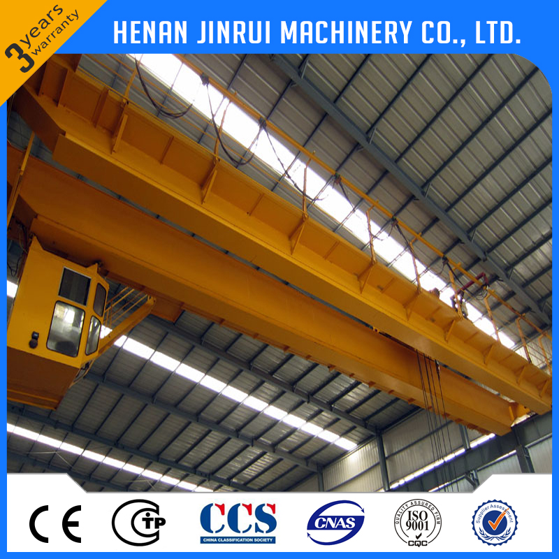 Double beam bridge crane 15 ton with electric trolley best price