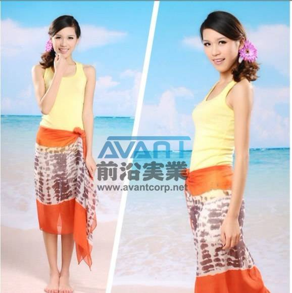 Printing polyester voile scarf for promotion