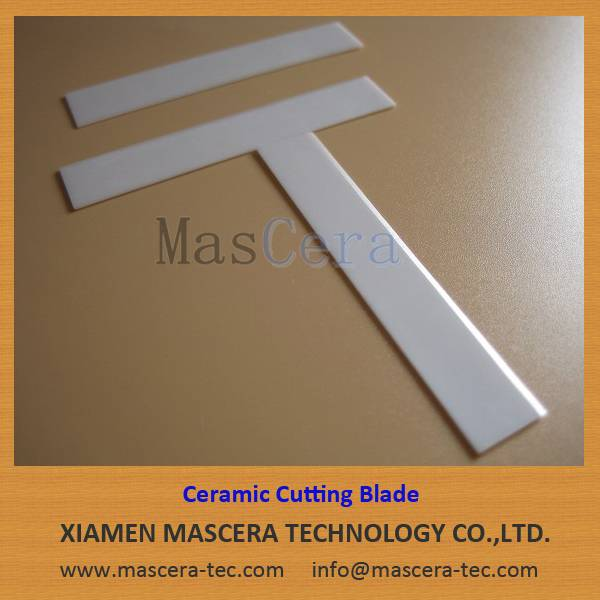 Sharp Cutting Edge/High Working Life Zirconia Ceramic Blade