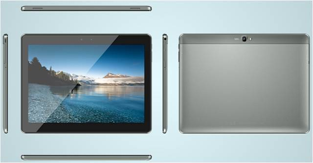 M106, 10.1 inch wifi-only tablet, Quad-core, 1280*800 IPS, G+G, 1+16G, dual camera 0.3+2.0MP, metal