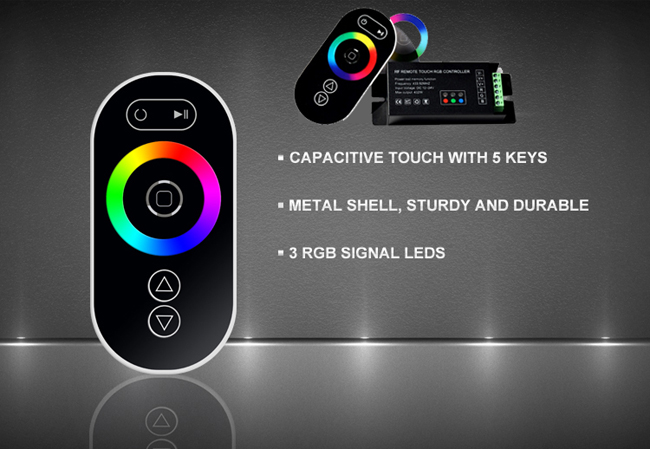 Wireless RGB LED Controller Driver & Controller