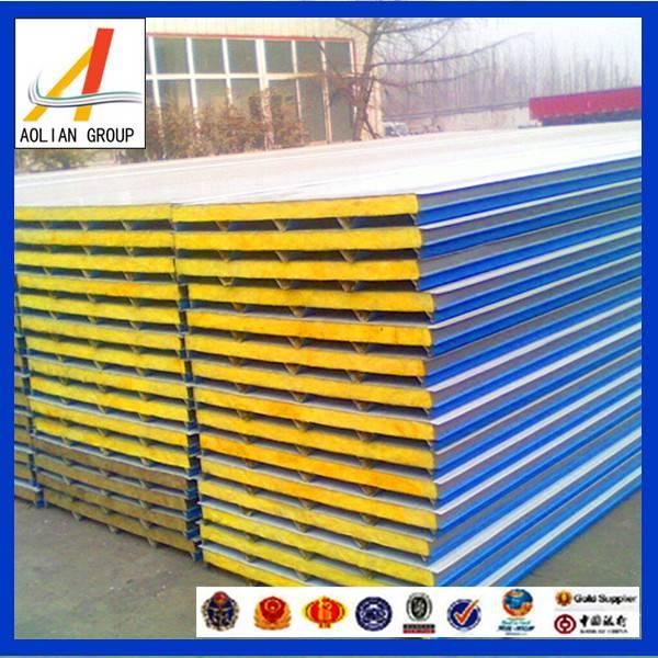 Aolian fiberglass wool sandwich panel for roof and wall