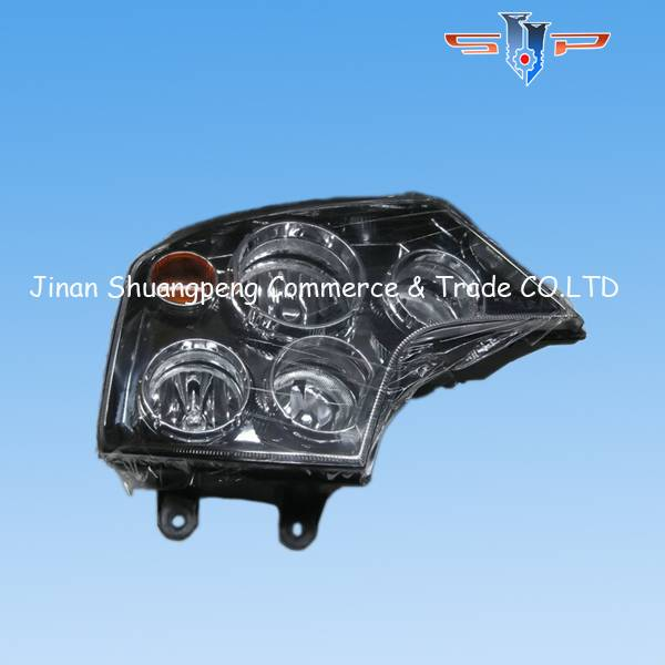 Steyr electrical parts combination headlamp