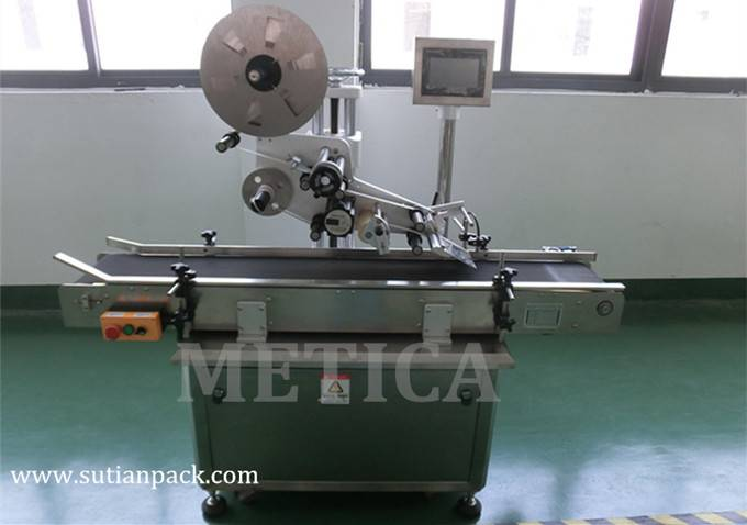 Automatic Flat Labeling Machine for Cap