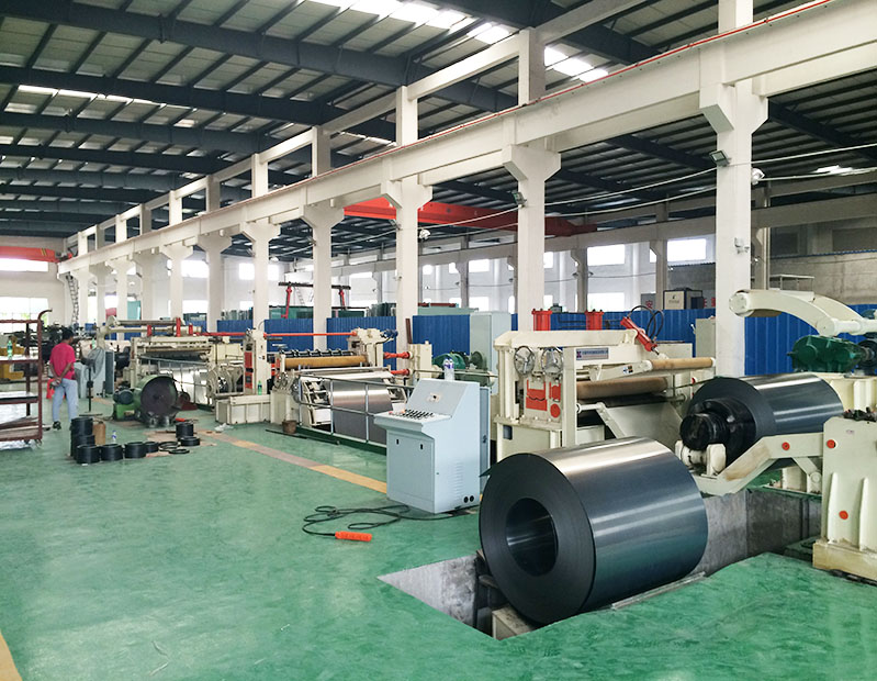 0.2-1x1250mm hydraulic slitting line