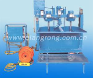 Post-tensioning Twin-tub mixer and grouting machine