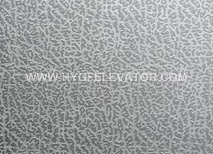 Elephant Skin Stainless Steel Embossed Colour