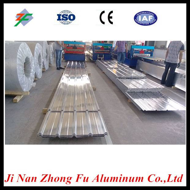 Building Material Trapezoidal Corrugated Aluminum Roofing Sheet With Competitive Price