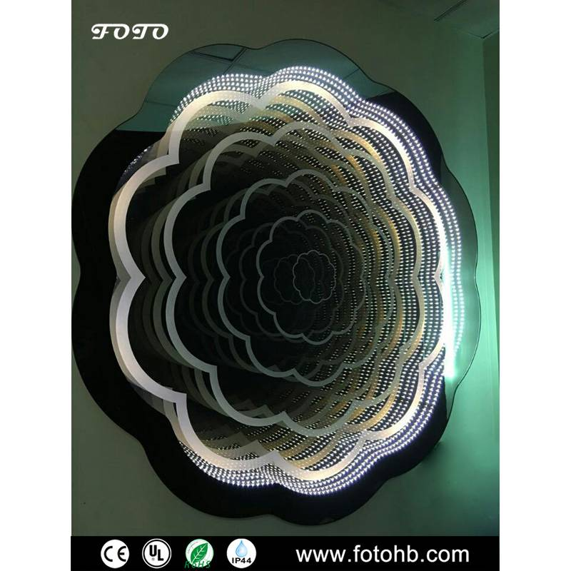 Infinity Mirror with LED Lighting