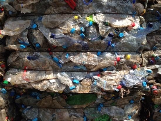PET bottle scrap, PET bottles in bales, scrap PET bottles