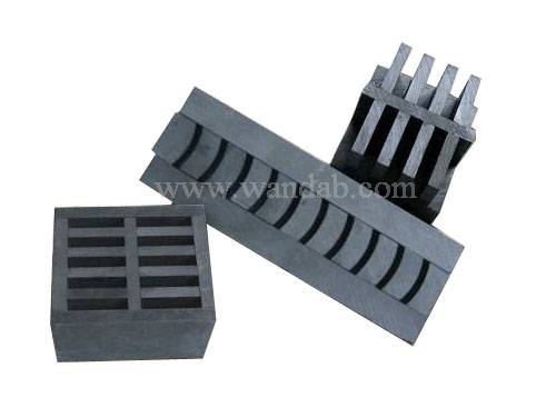 Graphite sintering mold for diamond segment
