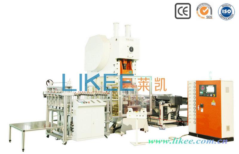 Silver plate aluminum container machine LK-T63