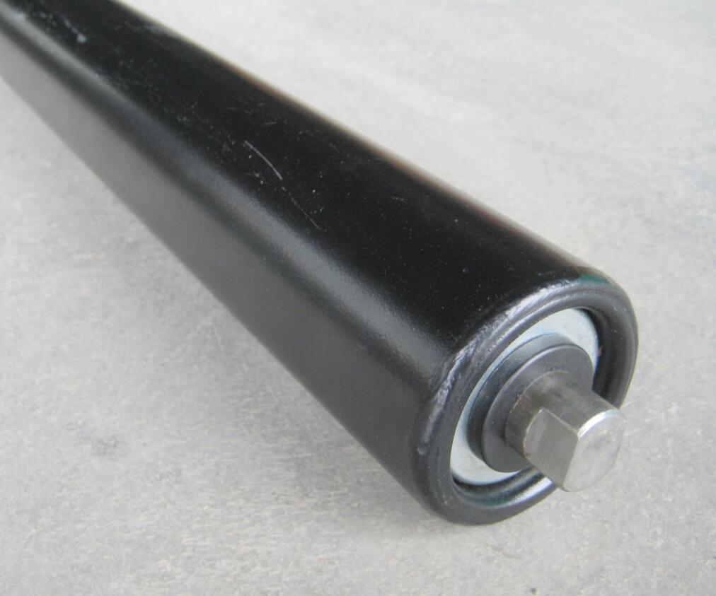 Part Conveyor Flat Idler Roller for Conveyor Frame