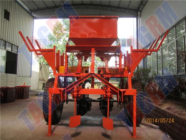 Best working performance 2AMSU 2 rows cassava planting machine flat type