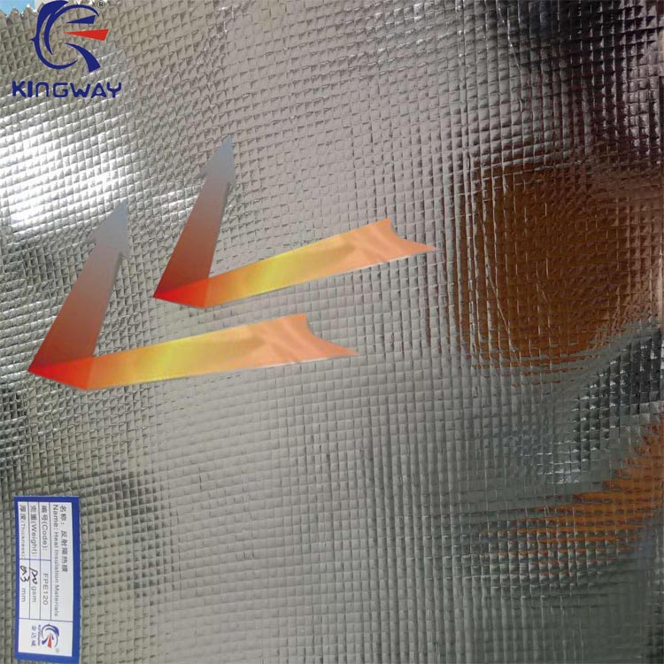 Aluminum foil roofing underlayment membrane