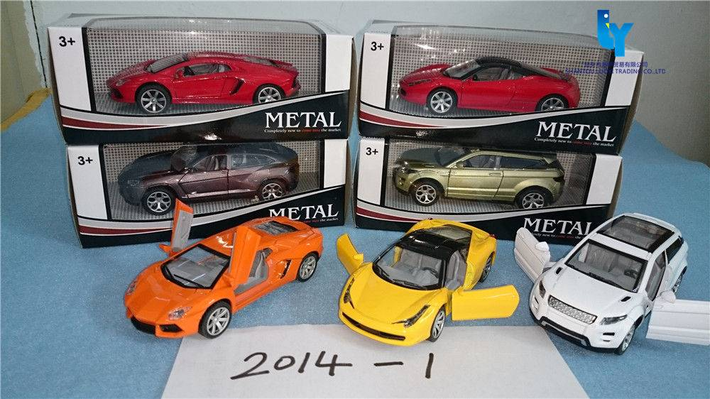 High quality factory OEM Die Cast Model Car Set