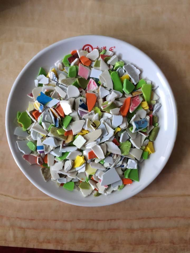 High quality colorful plastic blasting media material