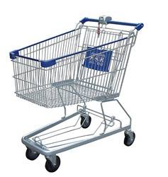 factory manufacture American strong material supermarket metal unfolding shopping carts for seniors