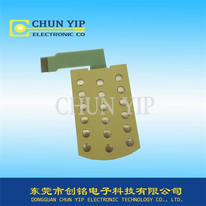 membrane metal dome push button switch