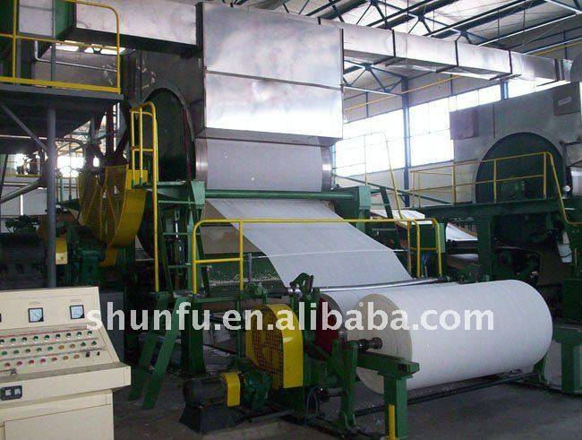787-1092Mm Napkin Paper Machine (1-2T/D)