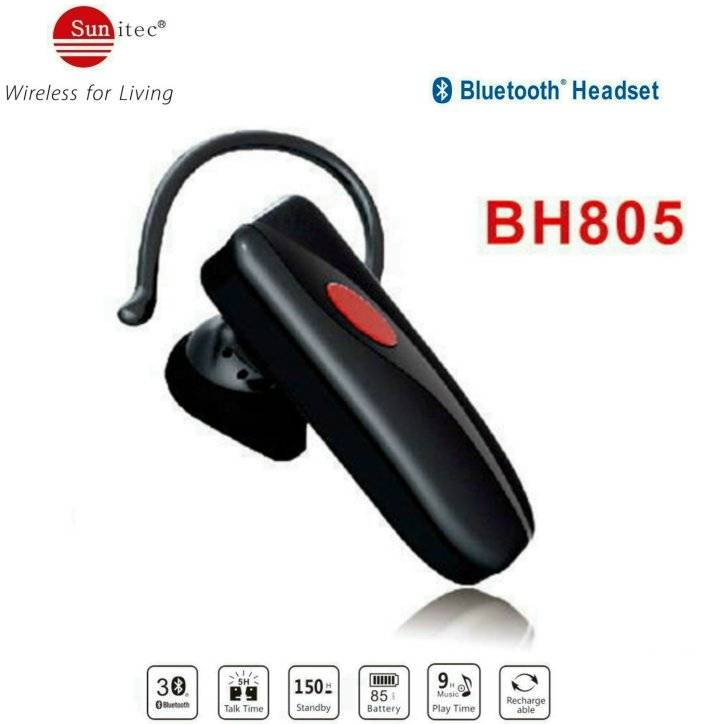 Wireless Bluetooth headsets BT4.0 HD Stereo Headphones/earbuds/Earpiece w/Microphone-noise cancellin