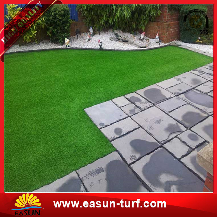 2016 Best selling Landscape Grass Artificial Synthetic turf Grass Factory-Donut