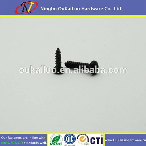 Made In China Cheap Black Zinc Self Tapping Screw