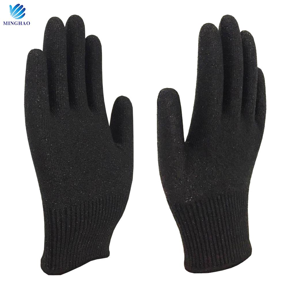 Customized HPPE Anti Cut Gloves for women, kids Cutting