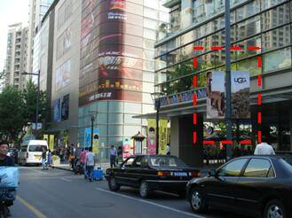 China Shanghai Available Advertising Locations for Rent