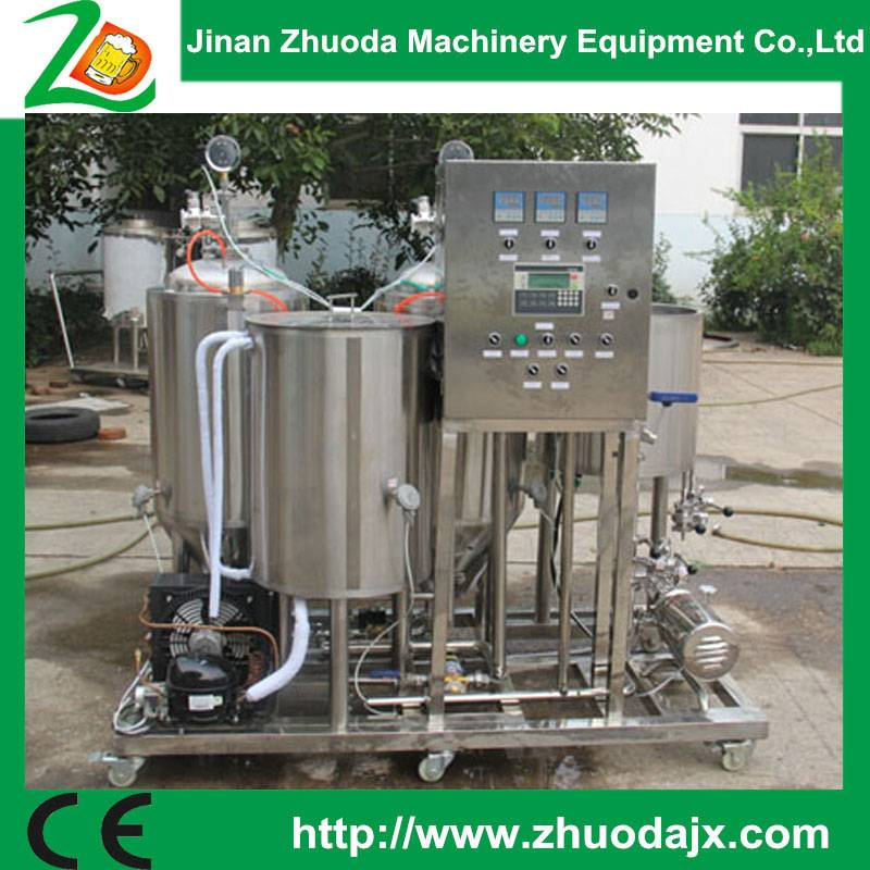 High cost-effevtive easy operating  50L mini brewery from China