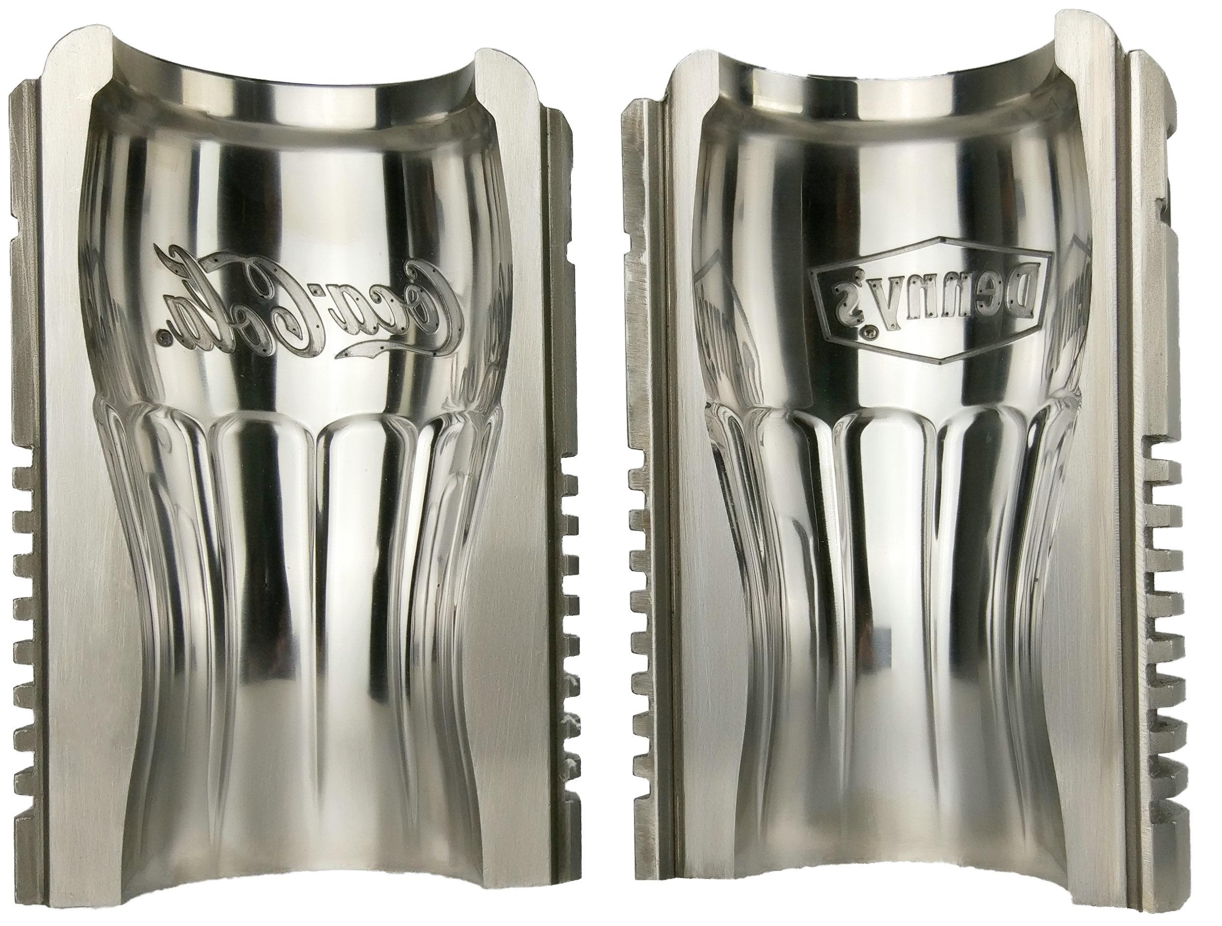 Coke glass bottle mould