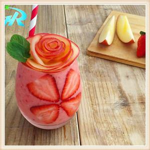12 OZ Custom Plastic Lenmon Juice Cup