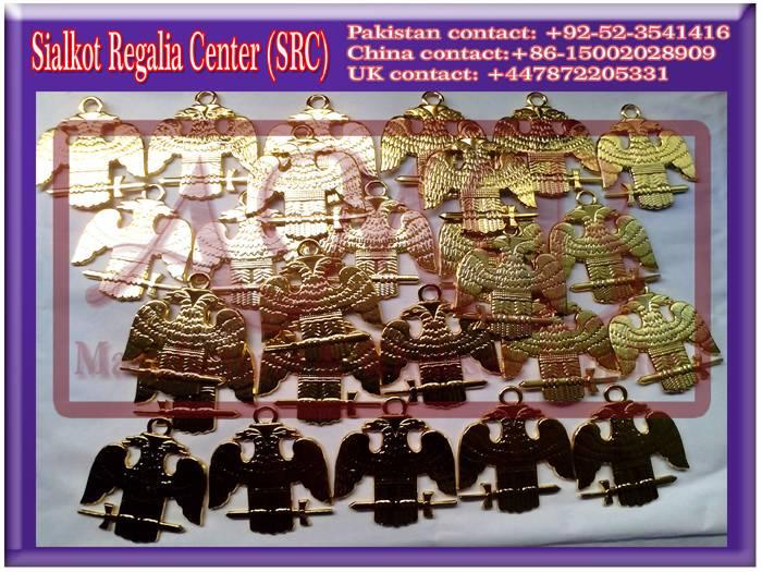 32-degree Masonic collar jewels