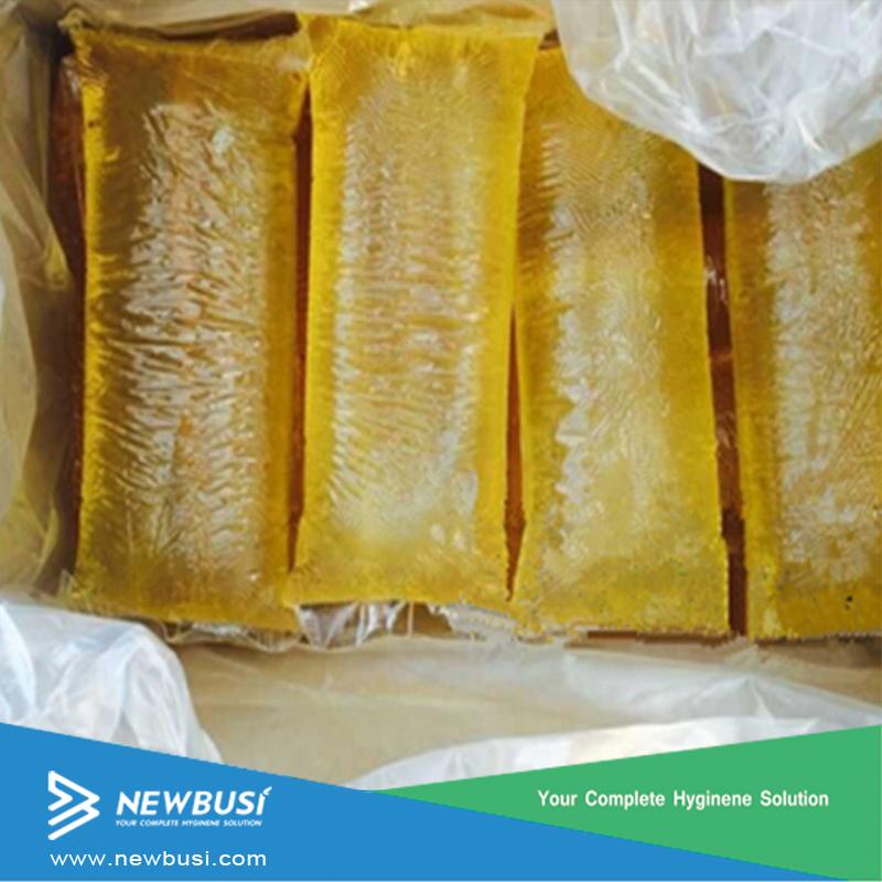 baby diapers Raw Materials-Rubber Elastic Spandex Hotmelt adhesive glue