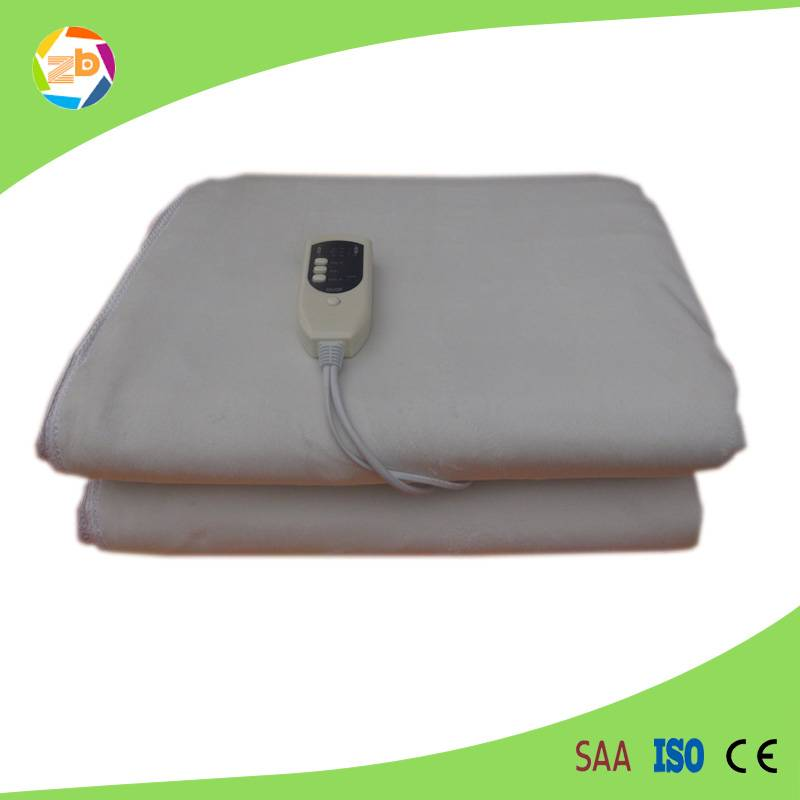 2015 customized temperatured warmer sheet/electric heating blanket