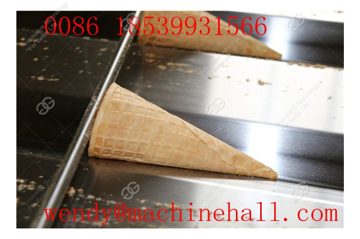 hot sale Wafer Cone Making Machine within 145mm long