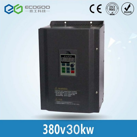 CE Approved 30KW Frequency Inverter 50hz to 60hz / Variable Frequency Converter/3 Phase 380V Frequen
