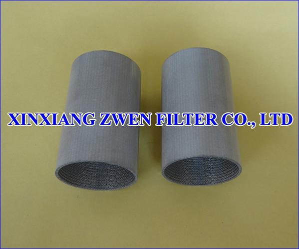 Sintered Metal Filter Tube