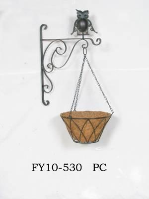 bird's nest/iron bird's nest/multi purppose wall hangings/wall stowage rack FY10-530