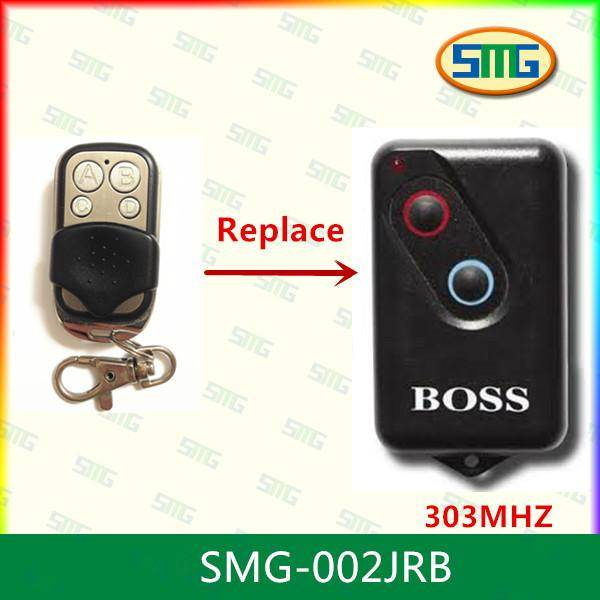 SMG-002  BOSS GUARDIAN STEEL-LINE BHT4 2211-L 303mhz GARAGE DOOR REMOTE CONTROL