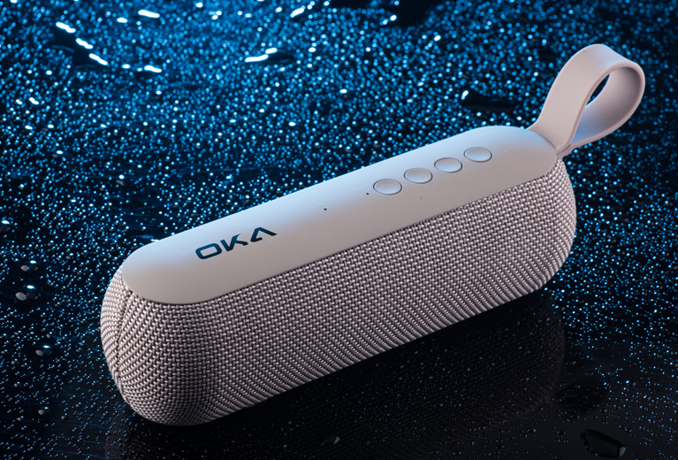 OKA MY201BT Fabric Bluetooth Speaker