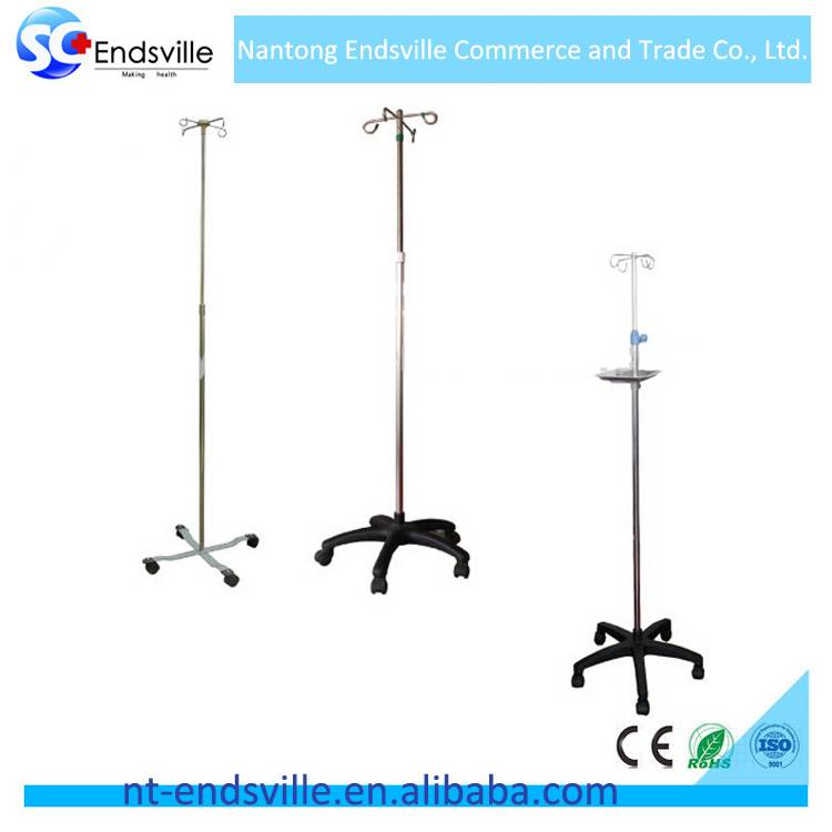 Hospital iv rod for infusion pump