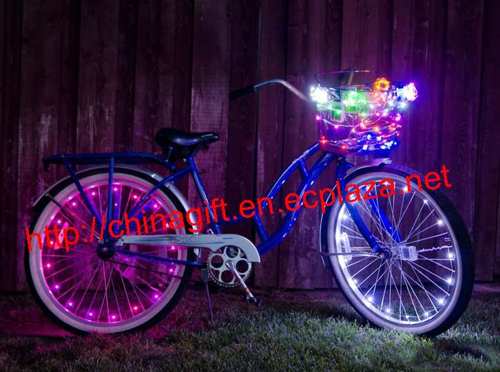 USB Copper Bicycle LED String Light