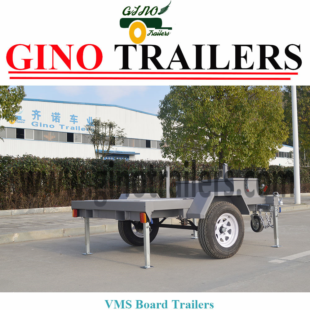 Outdoor Usage Australia solar LED VMS Trailer