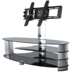 tranditioanl style glass tv stand