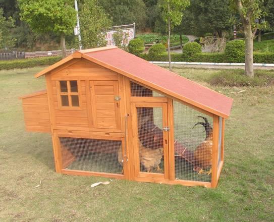 Wooden Chicken Coop (CKH002)
