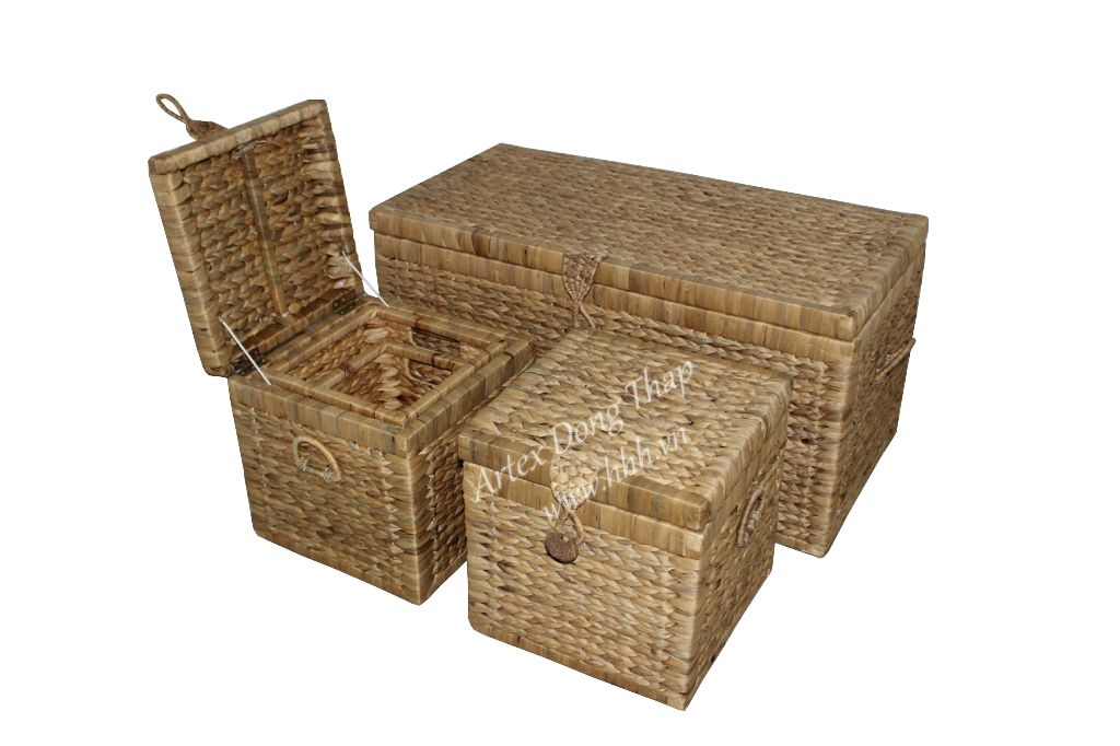 Water hyacinth trunk for home furniture - SD2231A-7NA